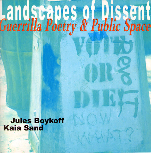Landscapes of Dissent book